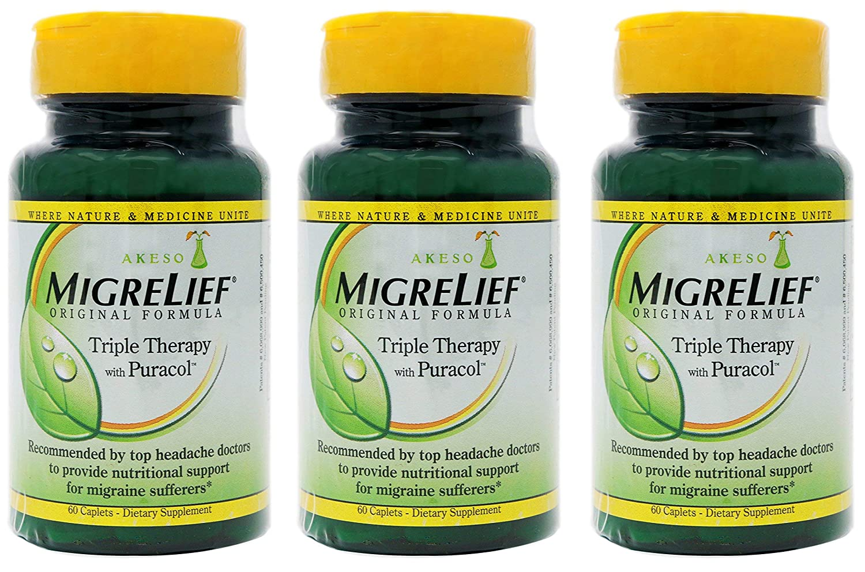 Amazon.com: MigreLief Fórmula Original Triple Terapia con ...