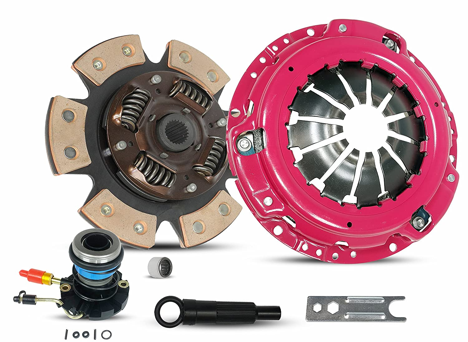 Embrague con esclavo Kit Set Etapa 3 para Ford Ranger pastilla camión: Amazon.es: Coche y moto