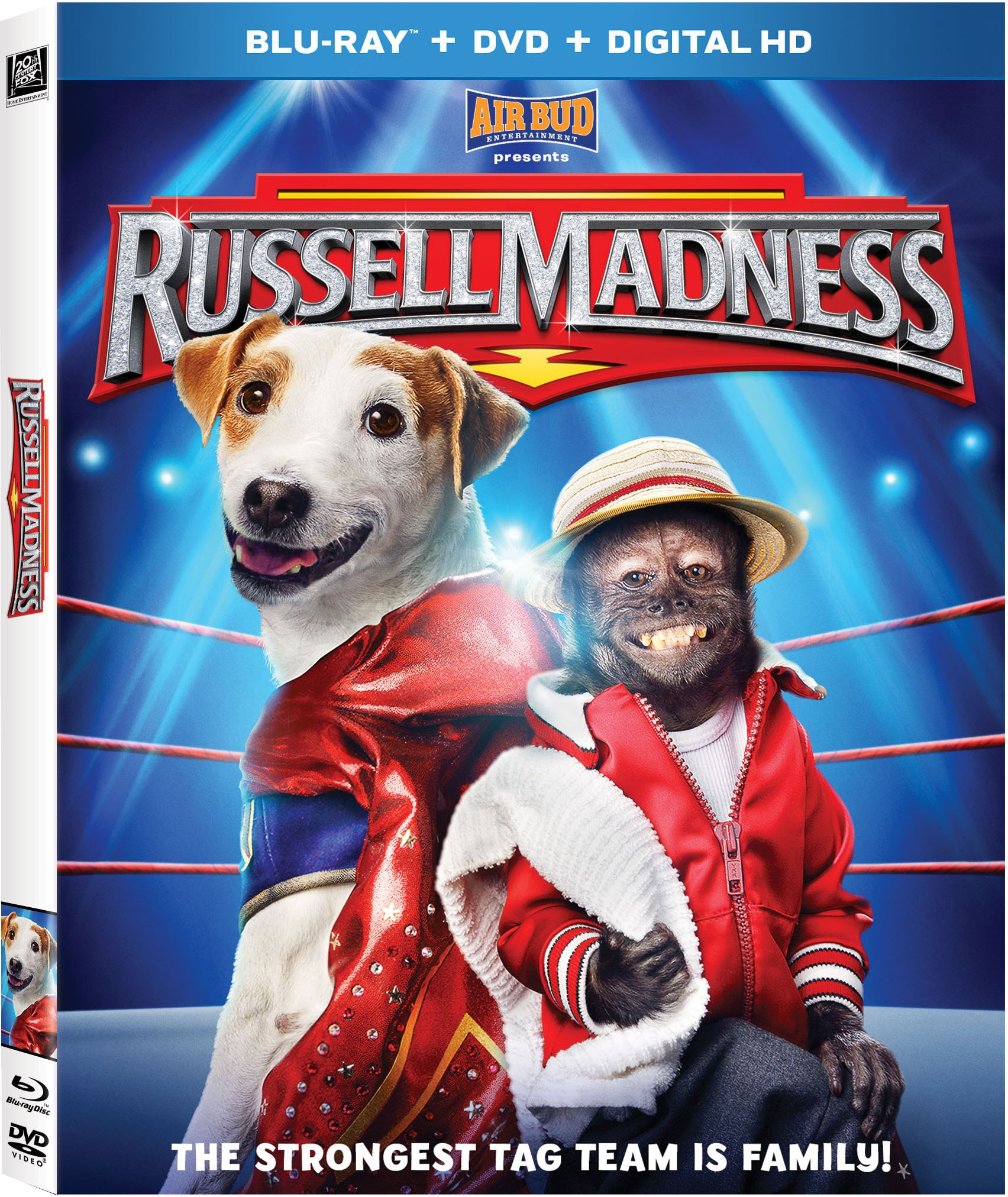 Blu-ray : Russell Madness (Digital Theater System, Digitally Mastered in HD, Widescreen, Dubbed, )