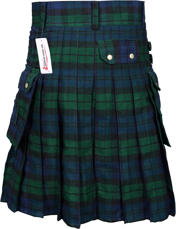 Scottish Kilt 8 Yards 16oz Campbell of Argyll Acrylic Wool Kilts