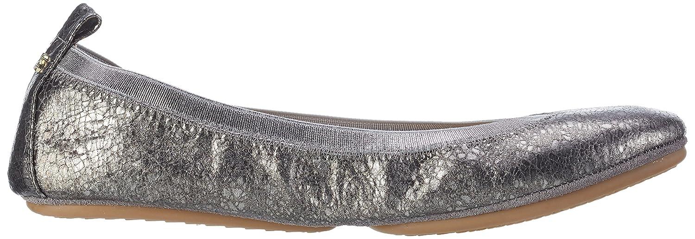 Yosi Samra Damen Samara Muted Metal Flat 2W Geschlossene Ballerinas:  Amazon.de: Schuhe & Handtaschen