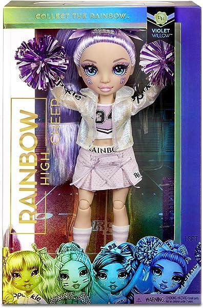 Rainbow High Cheer Dolls in package