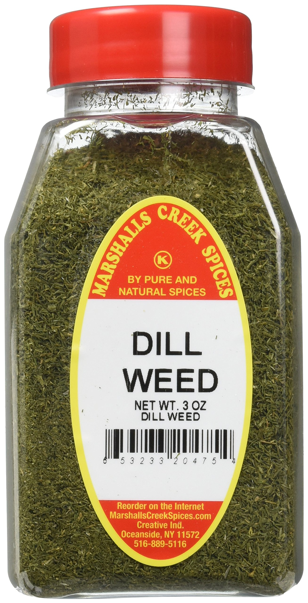Marshalls Creek Kosher Spices DILL WEED 3 oz