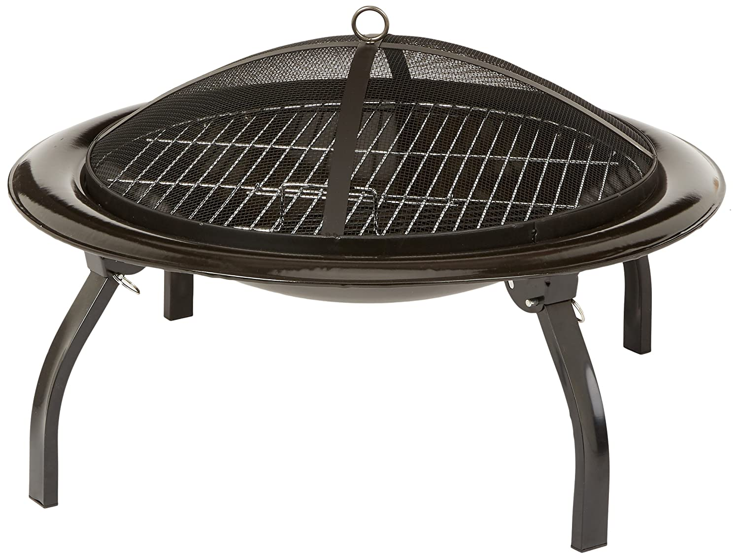 Folding Portable Fire Pits : How to cook on a fire pit these are the cooking