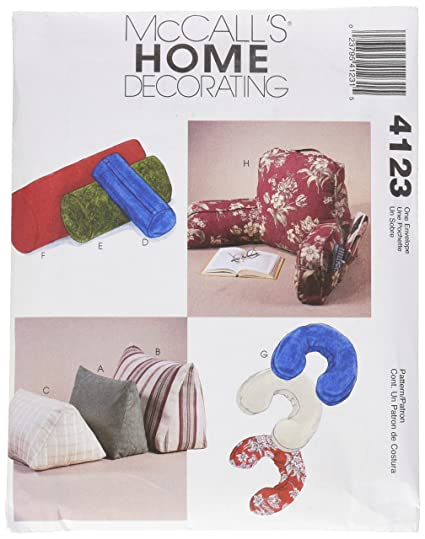 Amazon McCall's Patterns M60 Comfort Zone Pillows And Unique Pillow Sewing Patterns