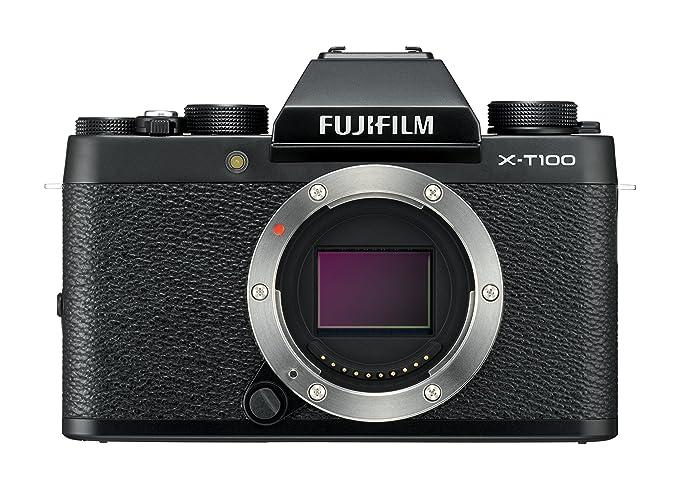 Kleine Weihnachtsbilder.Fujifilm X T100 Systemkamera Mit 24 2 Megapixel Aps C Sensor Schwarz
