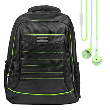 Amazon.com: Universal Padded Zipper Backpack Travel Casual ...