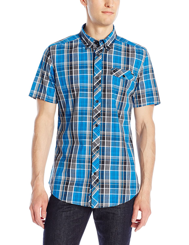 Ecko UNLTD Mens Tribeca Short Sleeve Woven Shirt