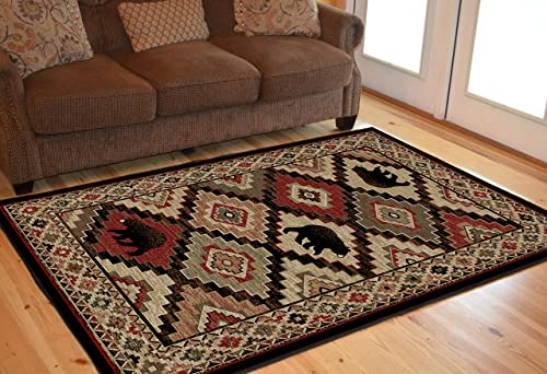 Mayberry Rugs Boone Multi Area Rug, 7 10 x9 10