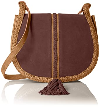 d2112624c4 STEVEN by Steve Madden Treviso Cross Body Handbag, Tan: Handbags: Amazon.com