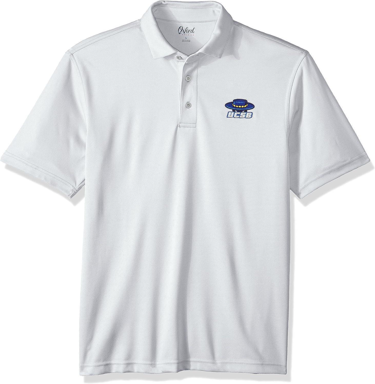 Oxford NCAA Mens Houston Performance Polo