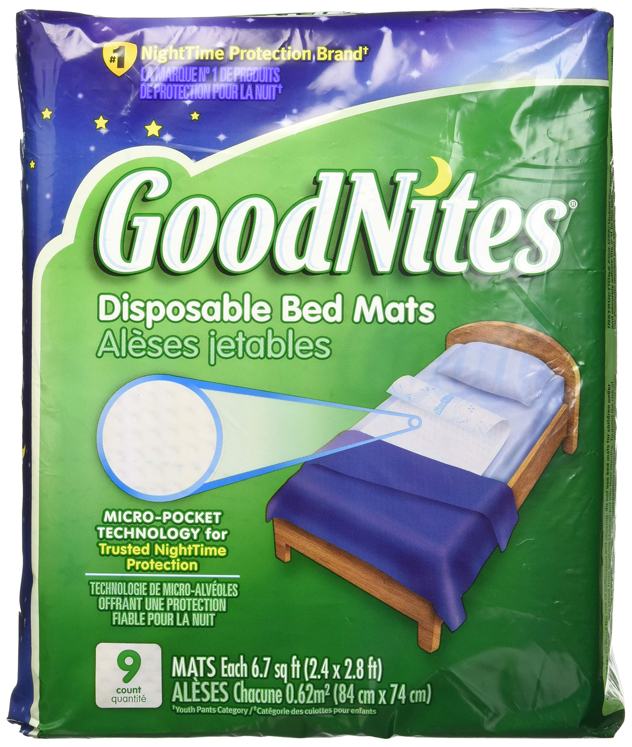 Goodnites Disposable Bed Mats - 36 Ct.