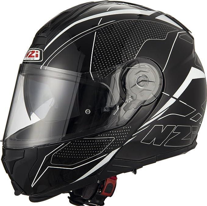 NZI Modular Helmets, Sword Black & White, Size XXL: Amazon.co.uk: Car & Motorbike