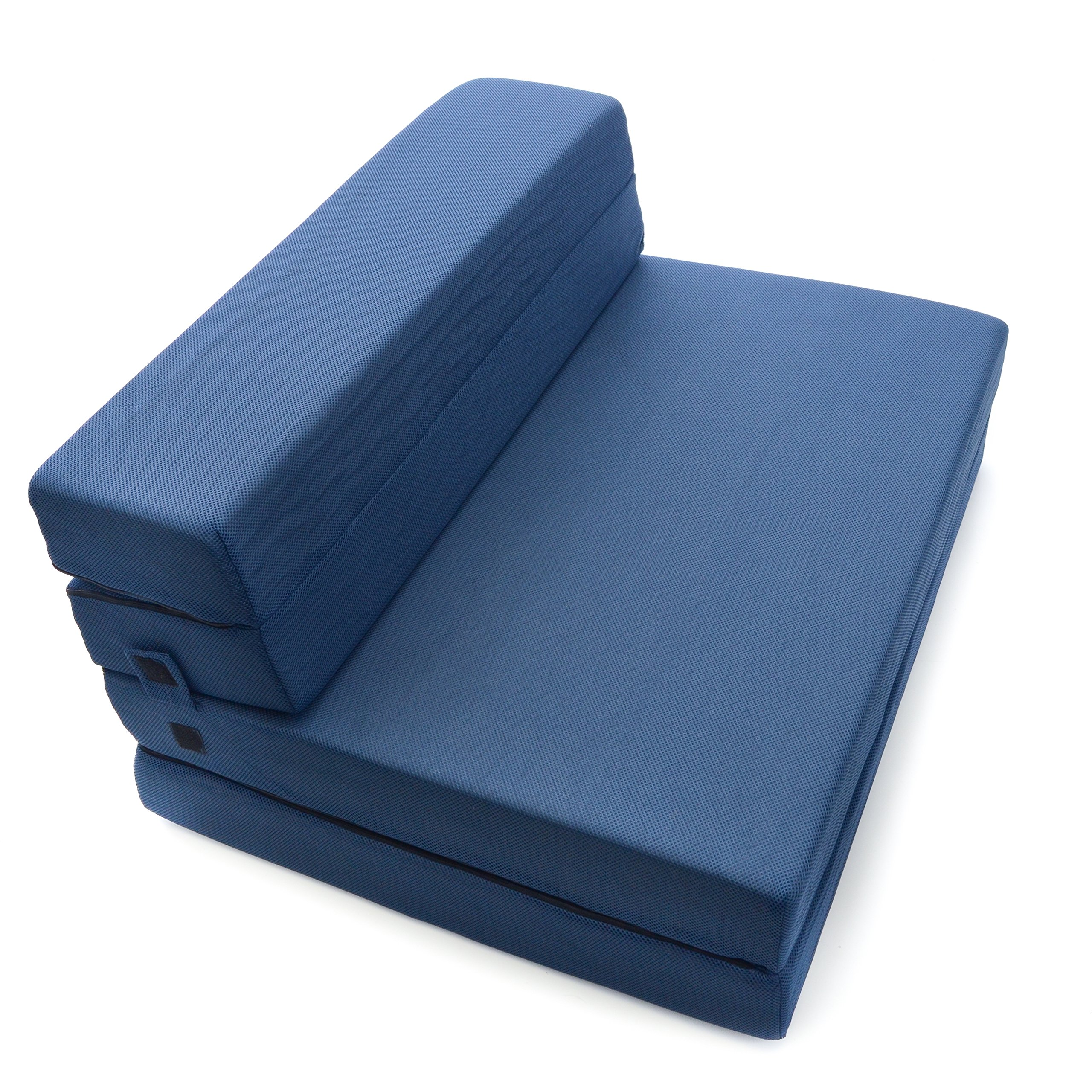 Milliard Tri Fold Foam Folding Mattress And Sofa Bed For
