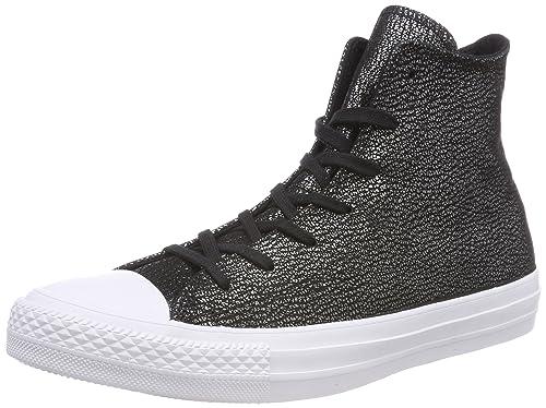 Converse Chuck Taylor CTAS Hi Nubuck, Zapatilla Alta para Mujer: Amazon.es: Zapatos y complementos