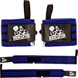 """Wrist Wraps Super Heavy Duty (1 Pair/2 Wraps) 24"""" for Weight Lifting 