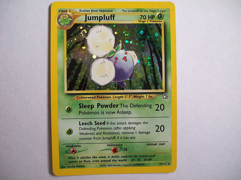 Pokemon - Jumpluff (7) - Neo Genesis - Holo