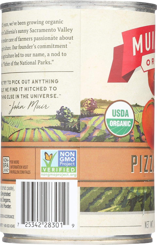Muir Glen orgánico Premium Pizza Salsa – -15 FL oz: Amazon ...