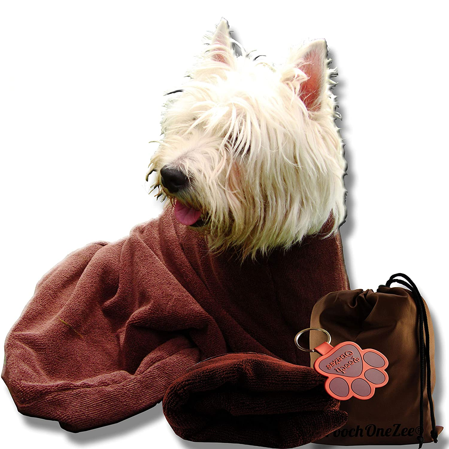 Pooch eZee Dry Fast Dog Bag Water Mud and Dirt Super Absorbent