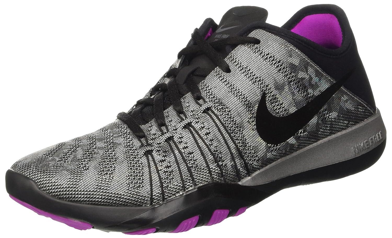 Womens Nike Free TR 6 Training Shoes B01DL0PM0I 6.5 B(M) US|Metallic Silver/Black/Hyper Violet