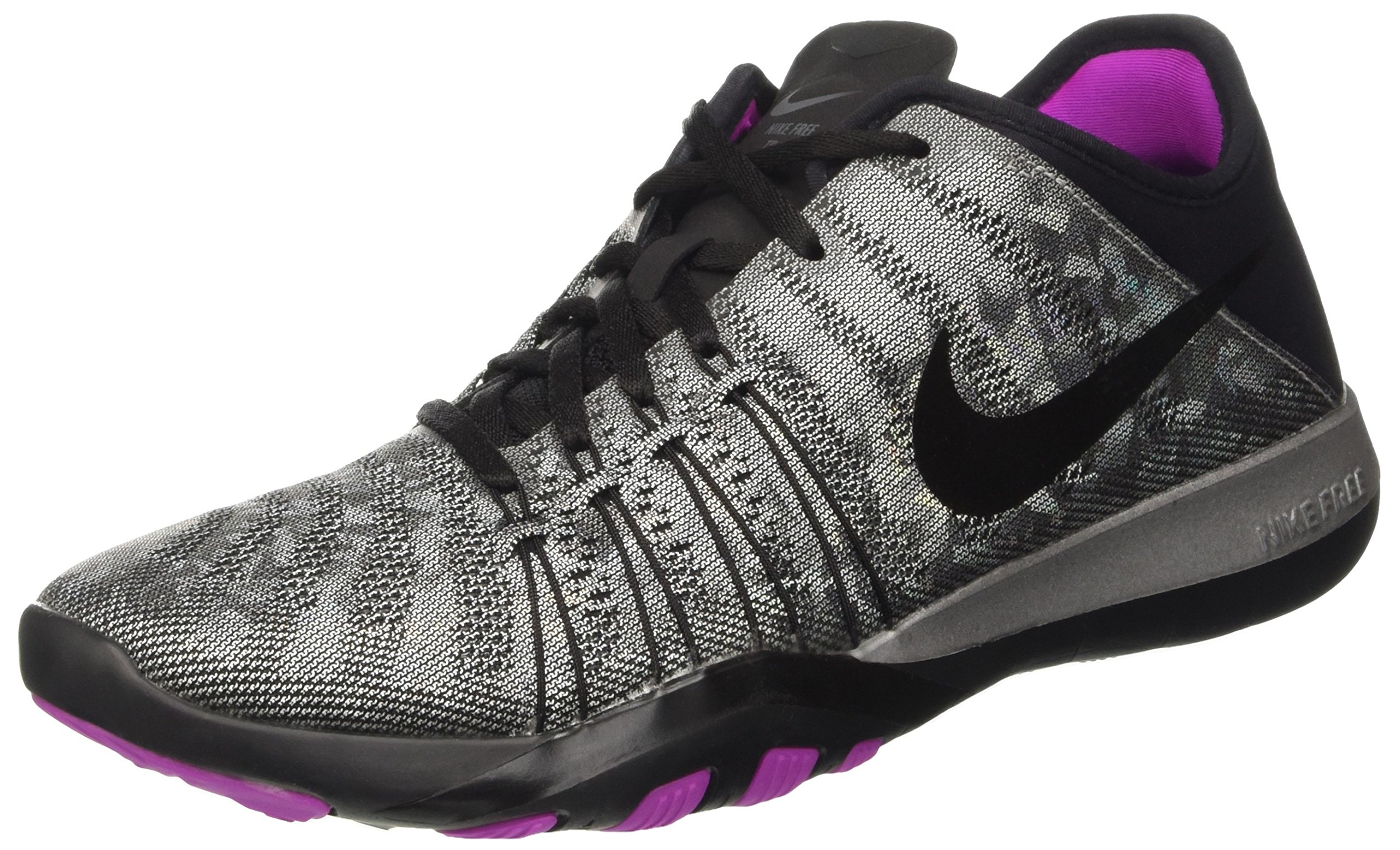 Galleon - Nike Women s Free TR 6 Metallic Training Shoe Metallic  Silver Black Hyper Violet Size 7 M US 9132b689a