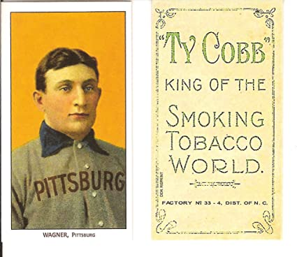 1909 T206 Honus Wagner Piedmont Pittsburg Rookie Card Imt 1995 Wagner Estate Cmg Mint Condition Ships In A Brand New Holder Made Popular By
