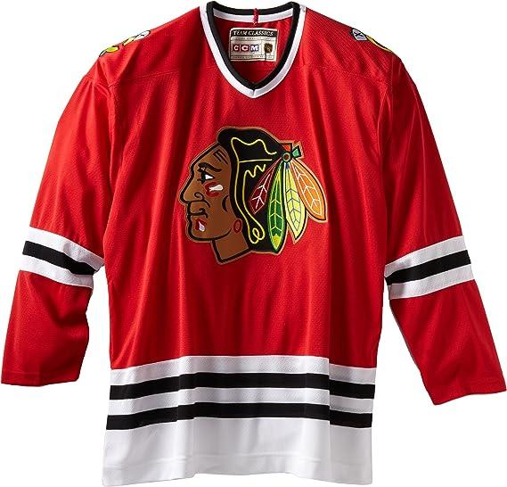 chicago blackhawks throwback jersey