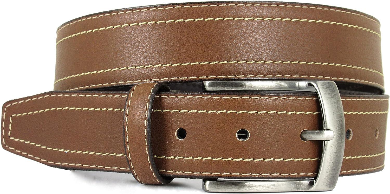 Cinturón para hombre - Hecho a mano en España con piel de alta calidad - Disponible en Negro y Marrón
