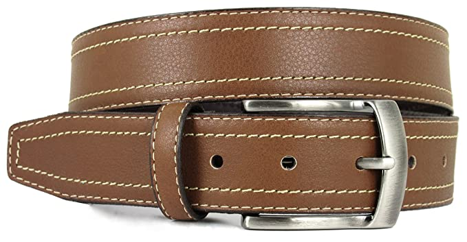 2ebc7a32cec Cinturón para hombre - Hecho a mano en España con piel de alta calidad -  Disponible en Negro y Marrón  Amazon.es  Ropa y accesorios