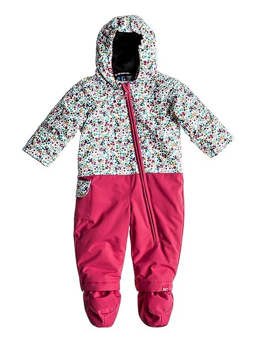 buy popular 9fb74 b4ecb Roxy Tuta da sci Bambina Sweet Pea Jumpsuit, Rosa (b rose ...