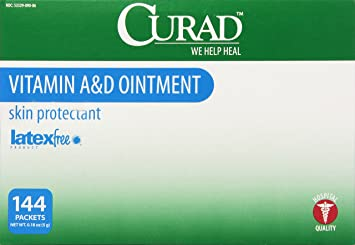 Medline Curad A&D Ointment, 144 Count