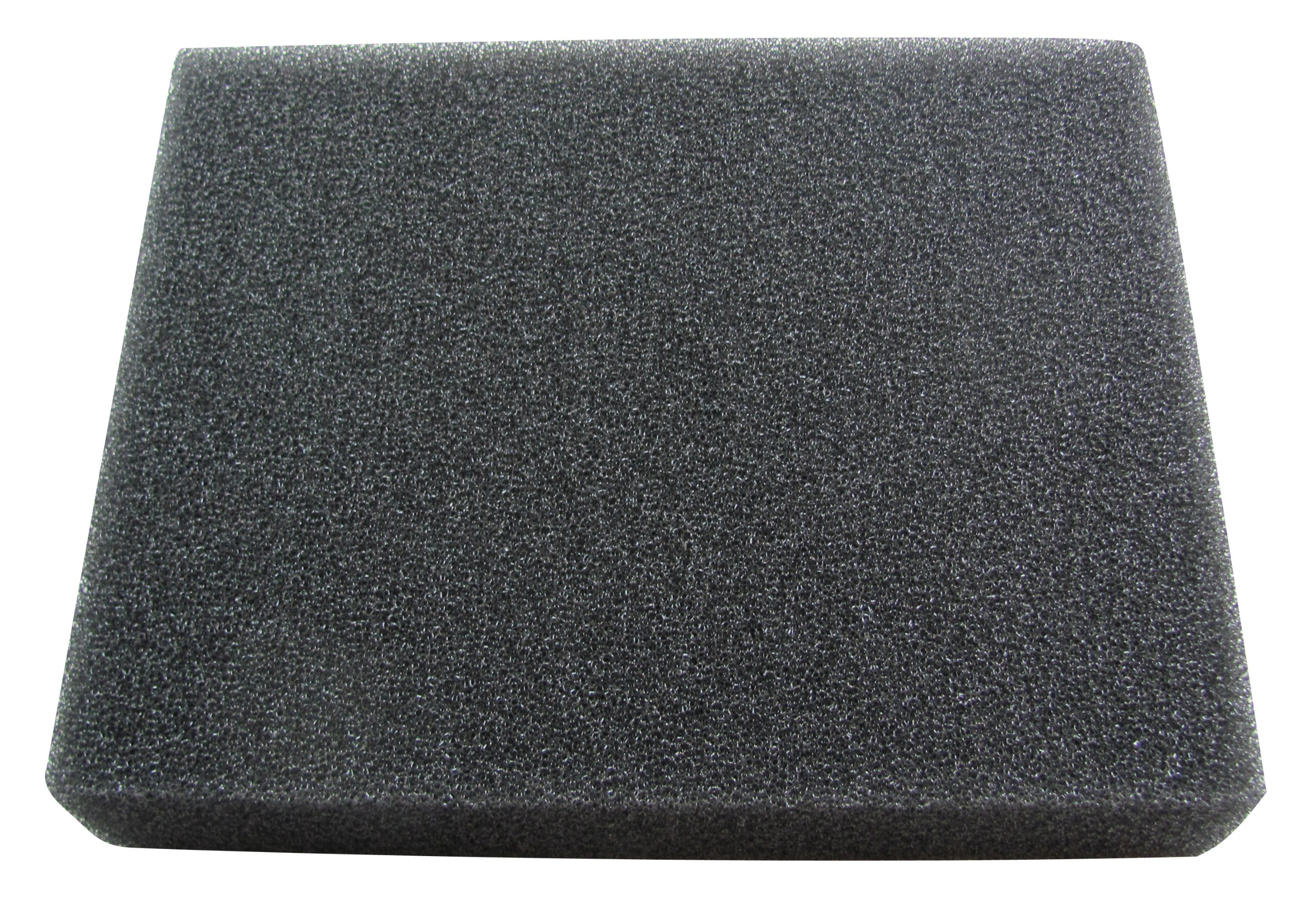 Uni Filter BF-3 8 X 10 X 2-Inch 30 PPI Black Coarse Foam / Skid Plate by Uni Filter