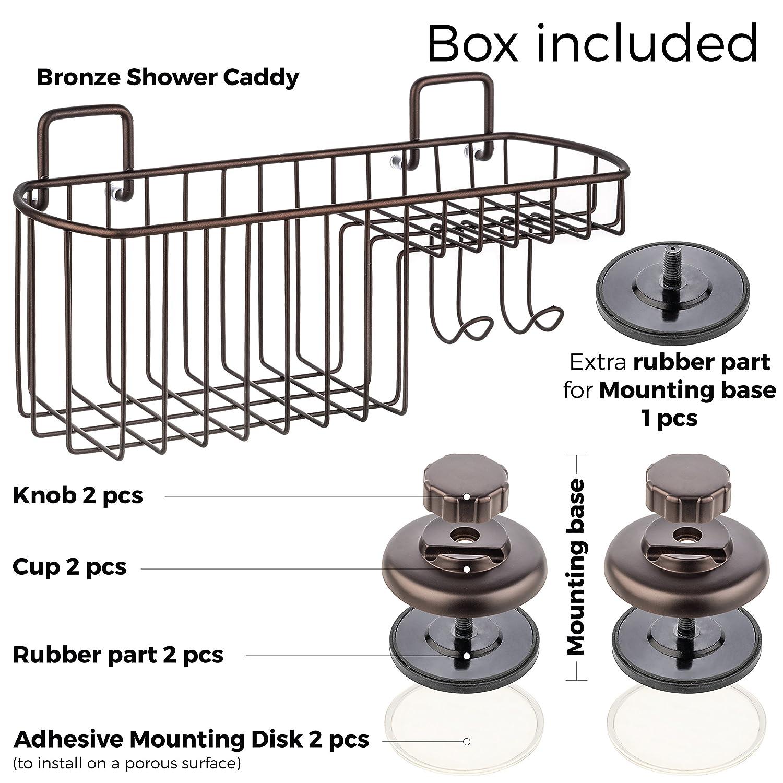 Amazon.com: HASKO accessories Powerful Vacuum Suction Cup Shower ...