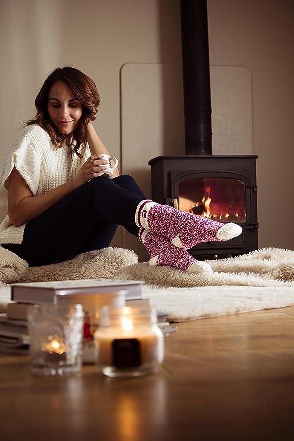 HEAT HOLDERS - Calcetines - para mujer Multicolor Ambleside Twist Medium: Amazon.es: Ropa y accesorios