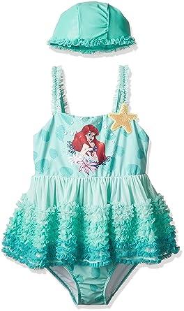 ca21e3dd46c46 水着 アリエル ディズニー リトルマーメイド アリエル Ariel プリンセス 水着 ワンピース スイムウェア 子供服 ベビー服 女の子