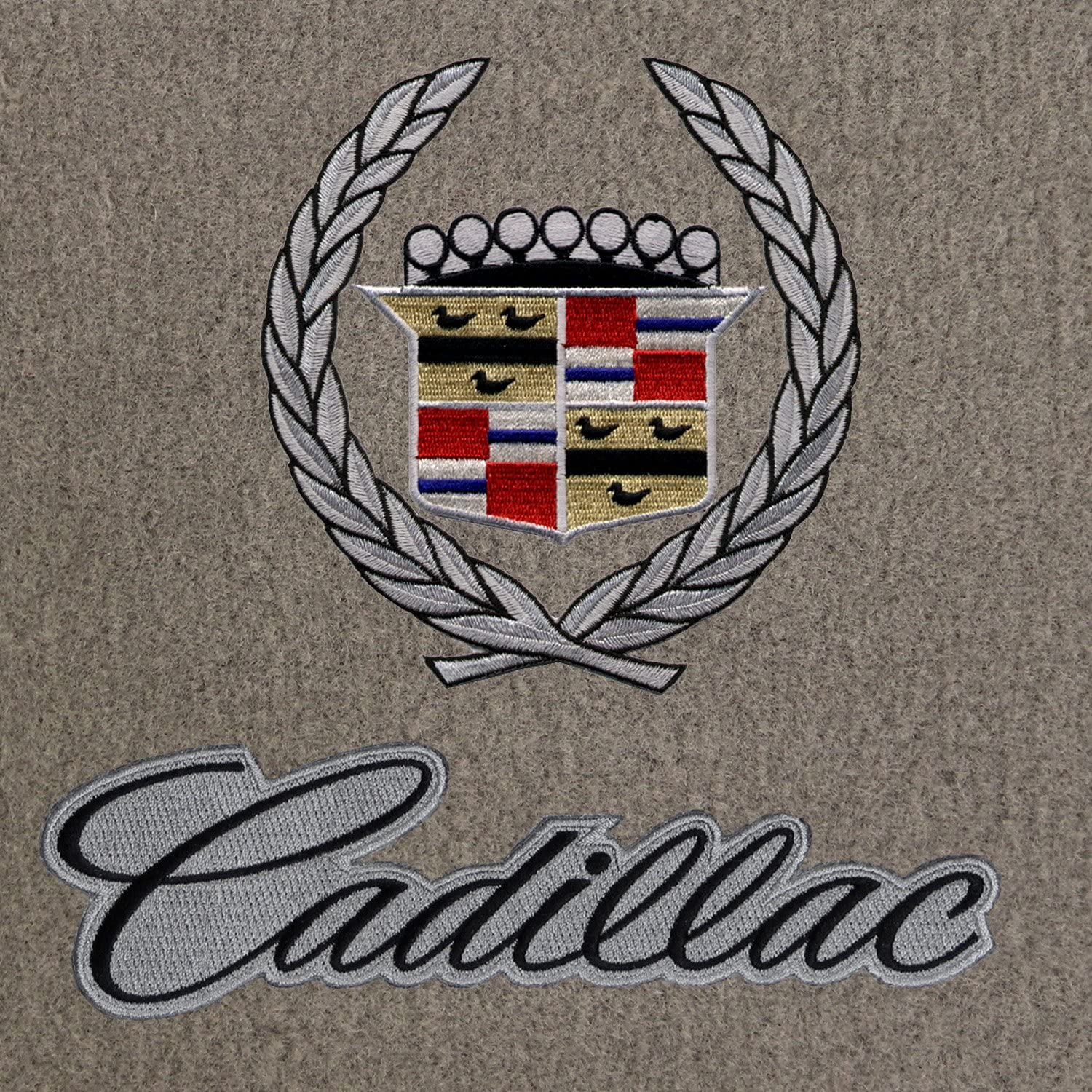 Lloyd Mats VELOURTEX Custom Made FRONT FLOOR MATS Cadillac Allante *Gold Logo*