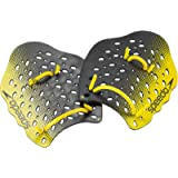 Speedo Unisex-Adult Swim Training Power Plus Paddles , Yellow , Large