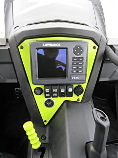 Turnkey UTV Can-Am Maverick GPS Dash Panel - Manta Green