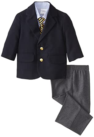 330839674694 Amazon.com  Nautica Baby Boys 4-Piece Suit Set with Dress Shirt ...