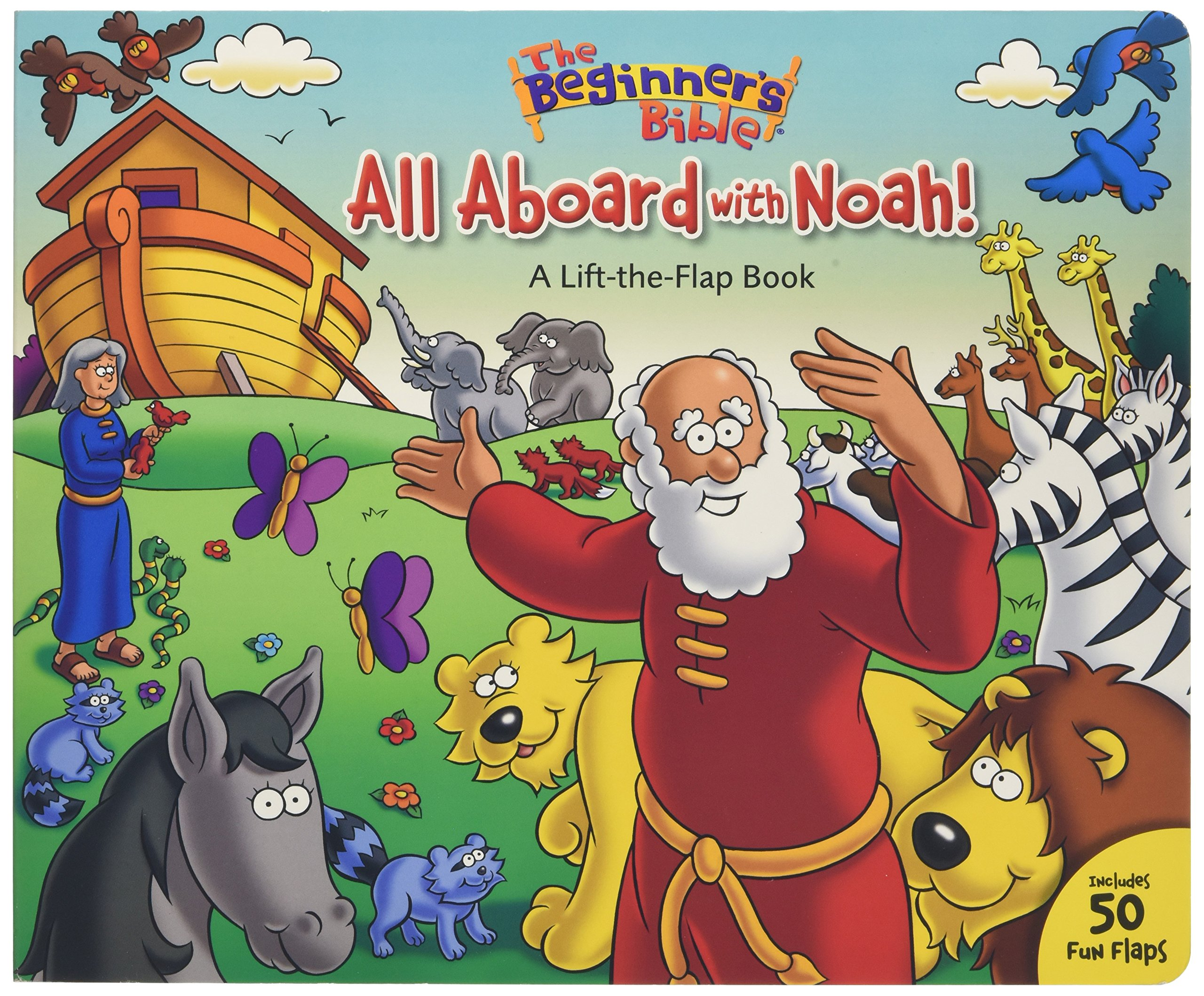 Download The Beginner's Bible All Aboard with Noah!: A Lift-the-Flap Book PDF
