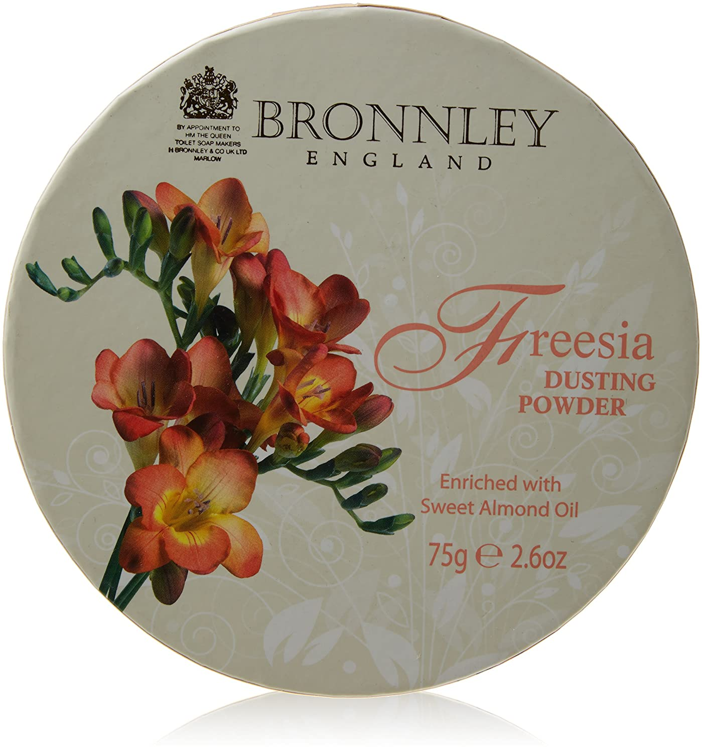 Bronnley Freesia Dusting Powder 75g H. Bronnley & Co. UK Ltd 112039