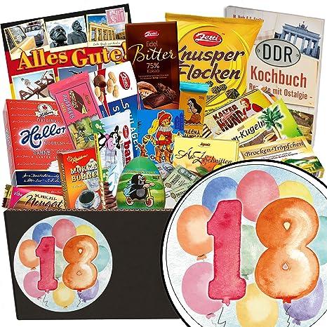 18 Geburtstagsgeschenk Schoko Box Geschenkideen