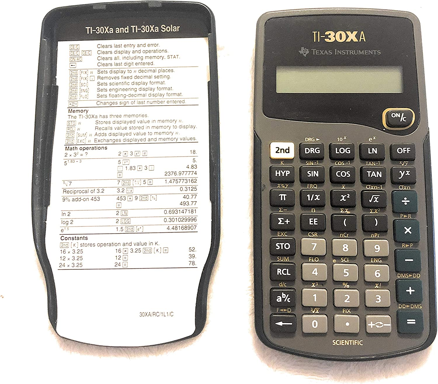 Best ti 30xa scientific calculator 2020
