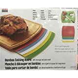 Seville Classics/Bamboo Cutting Board With Mats