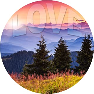 "product image for Next Innovations Motivational Wall Art Love 16"" Round"