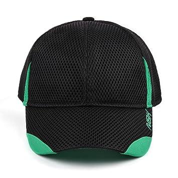 Nonbak gorra cap mesh casual/running tejido transpirable logo bordado Unisex 3 colores (Negro): Amazon.es: Deportes y aire libre