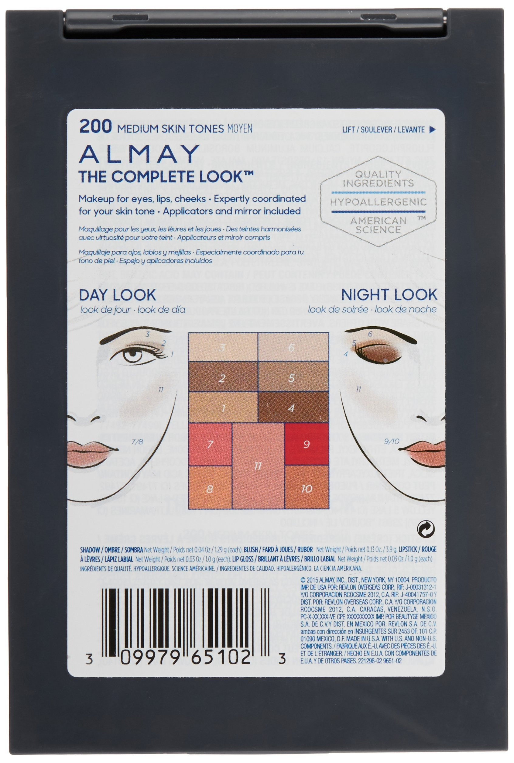Almay The Complete Look Palette, Medium