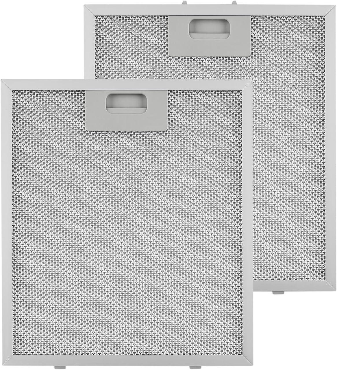 KLARSTEIN Repuesto de Filtro de Grasa de Aluminio - 25,8 x 29,8 cm, Adecuado para Campanas extractoras 10030938/9