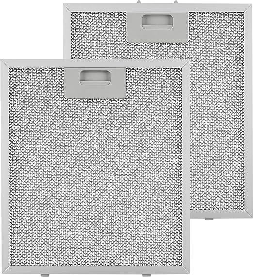 KLARSTEIN Repuesto de Filtro de Grasa de Aluminio - 25, 8 x 29, 8 cm, Adecuado para Campanas extractoras 10030938/9: Amazon.es