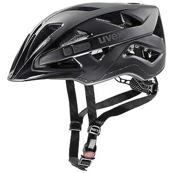 56-60 cm black-white mat uvex Unisex– Erwachsene Finale 2.0 Fahrradhel Helme